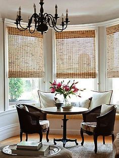 Breakfast Room.  I'm wanting these blinds in several rooms.