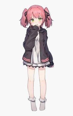 Cute Anime Pics, Anime Girl Cute, Kawaii Anime Girl, Anime Art Girl, Loli Kawaii, Kawaii Art, Moe Anime, Manga Anime, Manga Girl