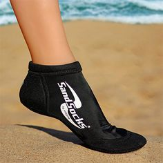 Sprites Sand Socks let you move faster and jump higher with the neoprene Action Flex Sole designed for beach volleyball, sand soccer, and other beach | Midwest Volleyball Warehouse