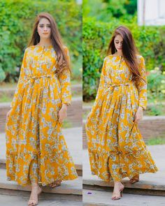 Stylish Dresses For Girls, Stylish Dress Designs, Frocks For Girls, Modest Dresses, Casual Dresses, Modest Outfits, Casual Wear, Summer Dresses, Simple Frock Design