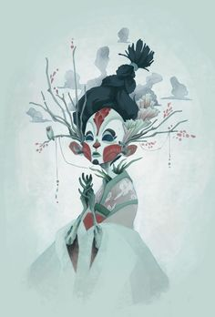 Masked by Cassey Kuo, via Behance