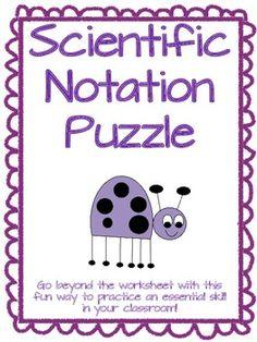 Math Test  Exponents Radicals  Scientific Notation  Math  Sci