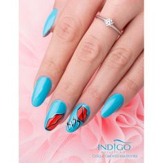 Double Tap if you like #nails #nailart #nailpolish #icon Find more Inspiration at www.indigo-nails.com