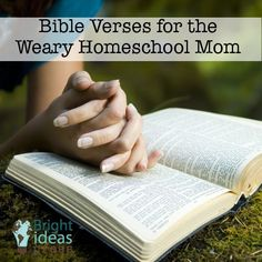 Verses for the Weary Homeschool Mom