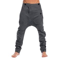Mens Deep Crotch Pants Trousers Nowadays