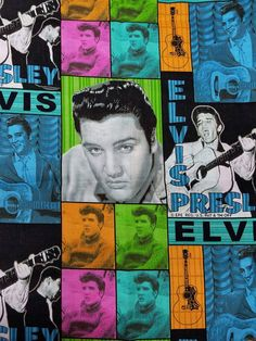 Check out this item in my Etsy shop https://www.etsy.com/listing/488096238/elvis-presley-vip-cranston-patchwork