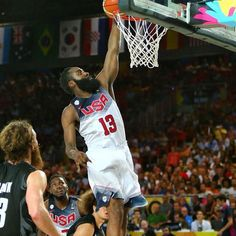 13 points from number 13 as Harden and Team USA beat New Zealand 98-71. Their FIBA World Cup play continues tomorrow at 2:30 p.m. CT against the Dominican Republic.
