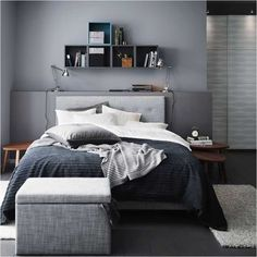 2169ccc3c79 Lovely Minimalist Mens Bedroom You Ought to Know Men's Bedroom Decor, Grey  Wall Bedroom,