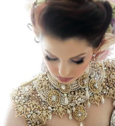 Jewelled Capelet..stunning with a  simple strapless gown