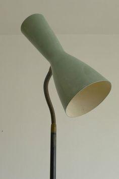 1950 STILNOVO DIABOLO FLOOR-LAMP