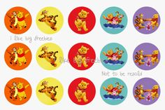Winnie the Pooh bottlecap images