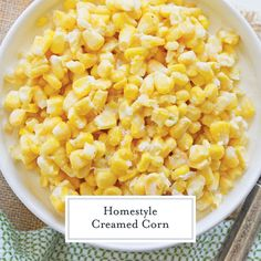 Easy Homemade Creamed Corn {With 12+ Flavor Variations!}
