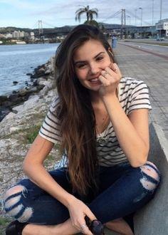A modelo e atriz Camila Queiroz