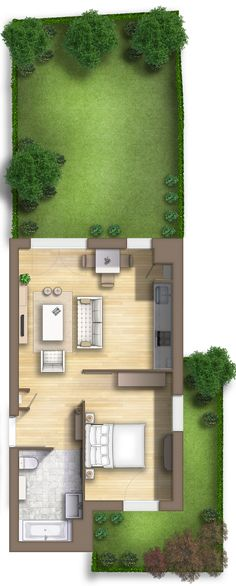 Floor plan rendering en Arcueil (Île-de-France) FRANCE