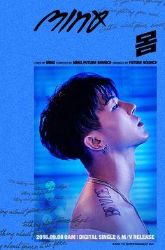 """WINNER's Song Min Ho has released another teaser image!He'll be releasing his song """"Body"""" at midnight KST on September 24 hour… Minho Winner, Winner Kpop, Yongin, K Pop, Bobby, Playboy, Rapper, Hip Hop, Song Minho"""