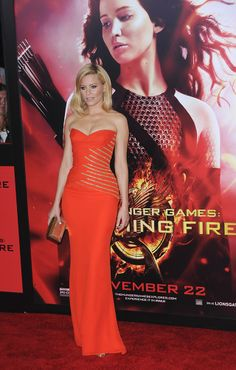 Click here to see all the red carpet looks from the LA premiere of Catching Fire.