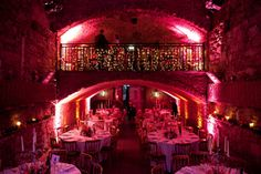10 Quirky Wedding Venues; The Caves, Edinburgh