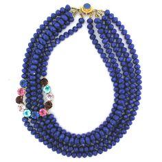 On A Lucky Blue-Sky Day necklace by Elva Fields
