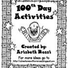 Celebrate the 100th Day of School with these fun and engaging activities! There are 4 activities, 1 parent letter (for a project) and a certificate...