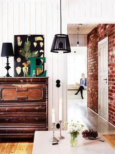 Finnish vintage home.