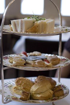 High Tea at The Tea Room, QVB, Sydney