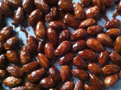 Salty Almond Praline - Not for Coco I Foods, Almond, Beans, Sweets, Candy, Vegetables, Recipes, Gummi Candy, Recipies