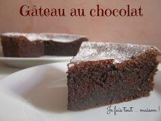 Gateau au chocolat Bellevue de Christophe Felder