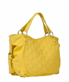 Handbags that double as diaper bags - love the yellow!