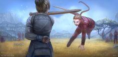 ArtStation - Kingkiller Chronicles - Penthe, Bihong Chang