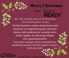 Baby Ready Prenatal - Helping busy families prepare for baby. Doula Services, Lean On Me, Lactation Cookies, Slow Dance, Preparing For Baby, Christmas, Xmas, Navidad, Noel
