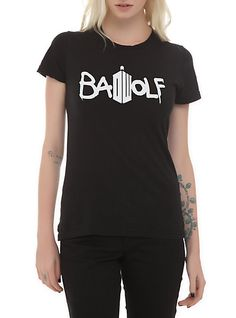 Doctor Who Bad Wolf T-Shirt
