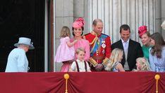 """The Duchess of Cambridge struggles with """"mummy guilt"""" because the royal duties sometimes affect her role as the mother of George, Charlotte, and Louis. Severe Morning Sickness, Queen Elizabeth Birthday, Prince William Wife, Working Mother, Princess Charlotte, Happy Baby, Buckingham Palace, Three Kids, Duchess Of Cambridge"""
