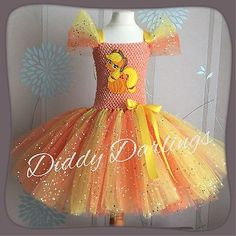 Sparkly Apple Jack Tutu Dress Party Sparkle Glitter Dress My Little Pony MLP