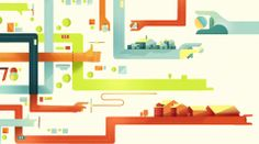 Super cool illustration style and motion graphics piece!!!