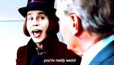 willy wonka johnny depp gif - Google Search