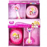 Make something special for your fellow party princesses with this great Sparkle Princess Cupcake Decorating Kit. This kit features 24 cupcake cups and 24 princess picks with 4 different princesses. Disney Princess Birthday, Princess Theme, Princess Party Cupcakes, Wholesale Party Supplies, Cupcake In A Cup, Last Minute Christmas Gifts, Printed Balloons, Kids Party Themes, Kit
