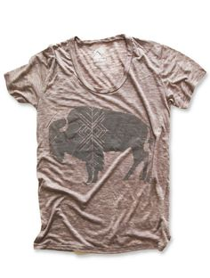 Image of BUFFALO LOOSE T | DIRTY HEATHER