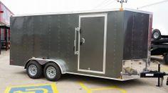 7 x 16 Enclosed Cargo Trailer Motorcycle Harley Quad ATV UTV RZR Side by side #raceCarhauler, @hitchittrailers in #brokenarrow #tulsa #trailersales #hitchit #haulmark #lark #bigtex #ricetrailers #trailer #Hitch #trailerparrts #trailerrepair #truckaccessories #enclosedtrailer #owasso #claremore #catoosa #bixby #coweta #sandsprings #oklahoma #sapulpa #glenpool #midtown #discount #trailersplusparts www.hitchitba.com www.facebook.com/hitchit 918-286-7900