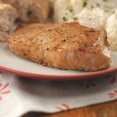 Savory Beer Pork Chops-used to make these all the time. So easy and sooo delish! Will satisfy your husband's stomach, for sure!