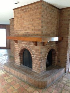 this would make the coolest outdoor fireplace