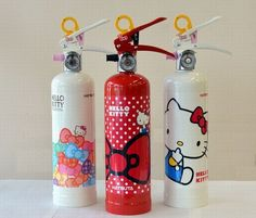Be Prepared For ADORABLE Emergencies With Hello Kitty Fire Extinguisher