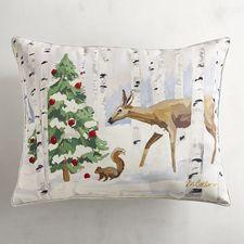 Winter Forest Pillow