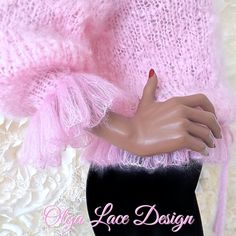 Mohair Sweater, Lace Design, Ballet Skirt, Couture, Skirts, Sweaters, Fall Winter, Projects, Ideas