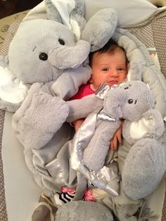 Lil Spout Belly Blanket - Personalized Elephant Plush BabyGift Find the perfect unisex baby gift when you buy lil spout elephant baby blanket in soft gray plush Elephant Baby Blanket, Elephant Nursery, Elephant Stuff, Elephant Theme, Baby Blankets, Lil Baby, Baby Love, Baby Kids, Shower Bebe
