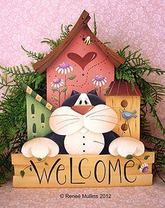 # 136 Recepción del Birdhouse del gatito (MODELO)