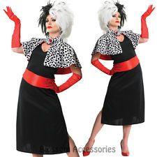 cruella deville costume plus size - Google Search                                                                                                                                                                                 More