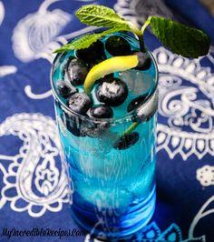 Bangin' Blueberry Lemonade!