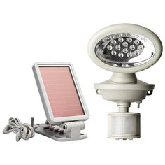 Solar Powered Motion Activated 14 LED Security Spotlight -