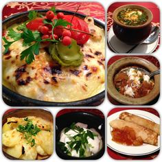 Must try Russian food: Borsch, Solyanka, Pelmeni (dumplings), meat casseroles baked with cheese and potatoes, and blini!