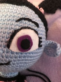 Ravelry: Vampirina Amigurumi Doll pattern by Paris Mitchell Amigurumi Doll, Ravelry, Paris, Dolls, Halloween, Pattern, Projects, How To Make, Crafts